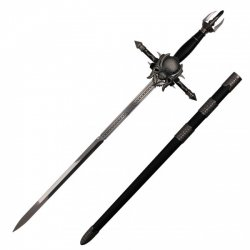 Fantasy Large Sword Spider with Wall Support