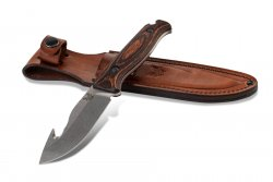 Benchmade 15004: Saddle Mountain Skinner w/Hook and Wood Handle